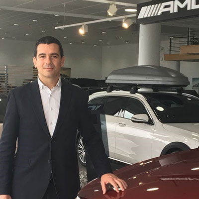 Alberto Rivas  - Sales manager en Mercedes-Benz Retail