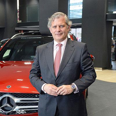 Eduardo García - Presidente de Mercedes-Benz Retail España