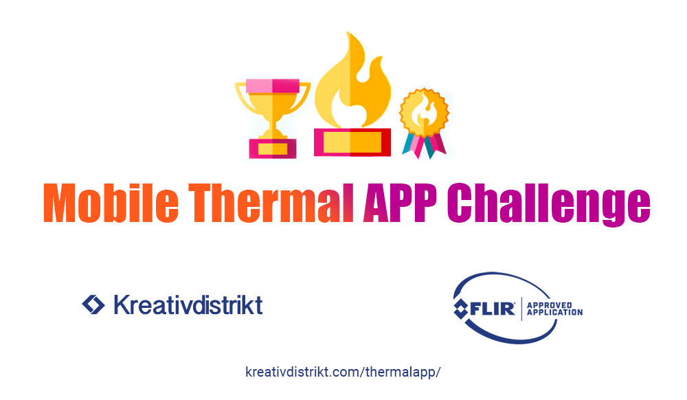 Mobile thermal app online hackathon